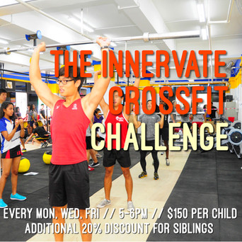 INNERVATE CROSSFIT TEENS - THE INNERVATE CHALLENGE