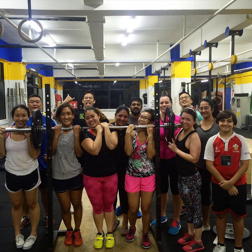 CrossFit Singapore Fitness