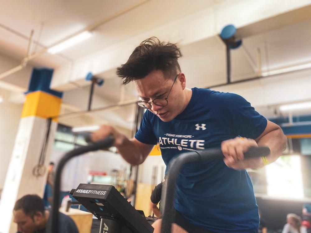CrossFit Singapore Air Bike Fitness