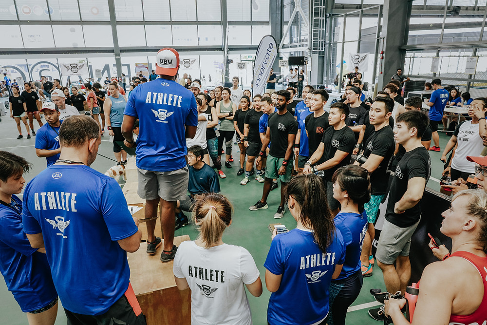 CrossFit Community in Singapore together