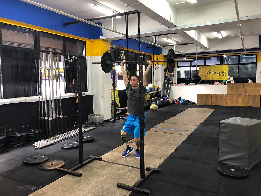 CrossFit Singapore Adaptive CrossFit Fitness