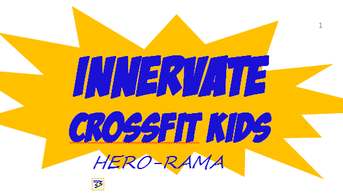 CrossFit Kids November Holidays Program - HERO-RAMA