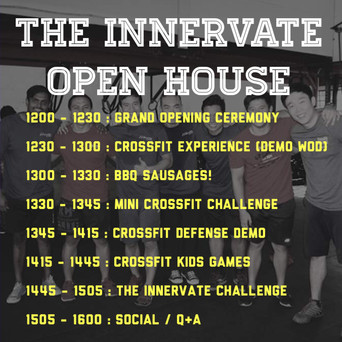 The Innervate Open House : What's going on!