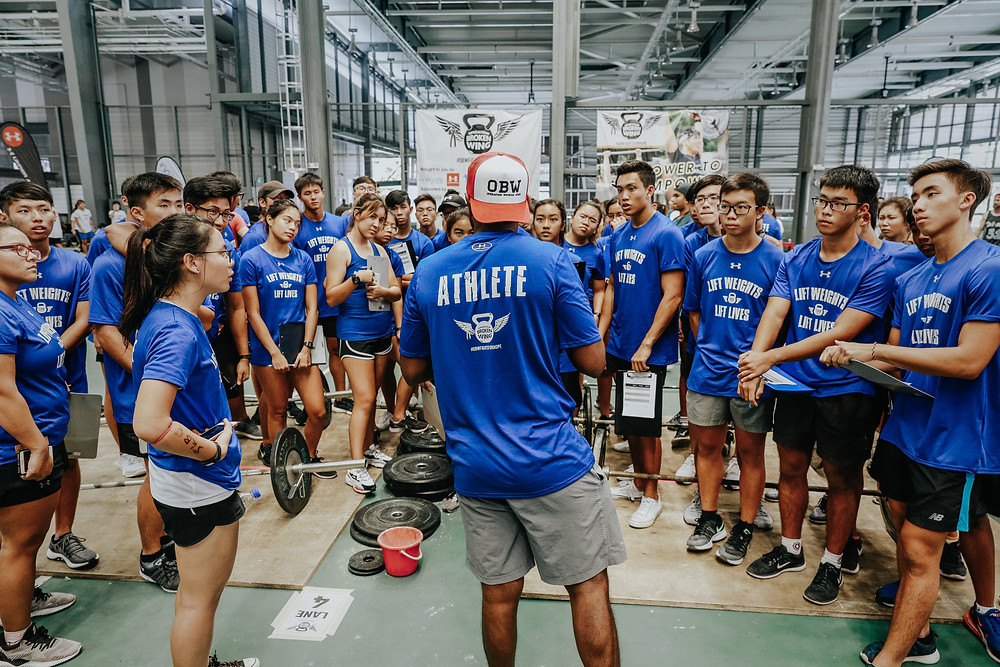 CrossFit Singapore Community coming together to make a difference and social impact