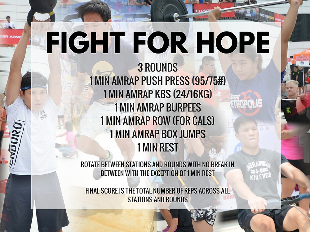 Singapore Innervate CrossFit Charity Fitness