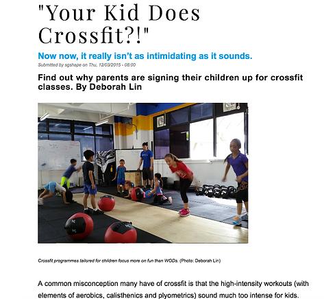 CrossFit Kids Strengh