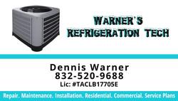 Warner's Refrigeration