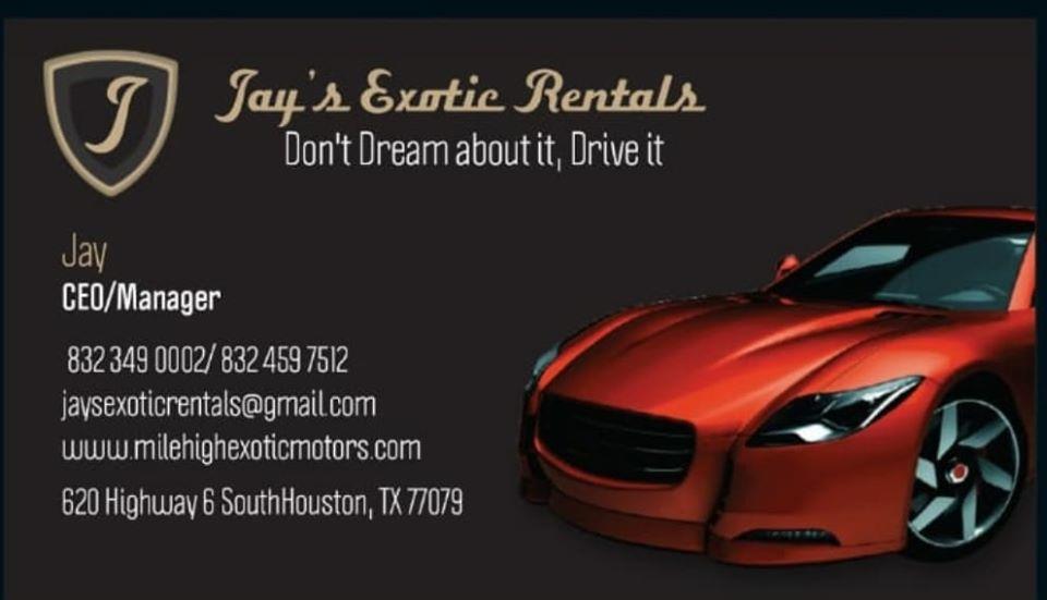 Jay's Exotic Rentals