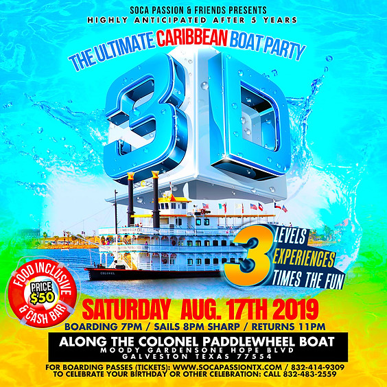 Caribbean Boat Party