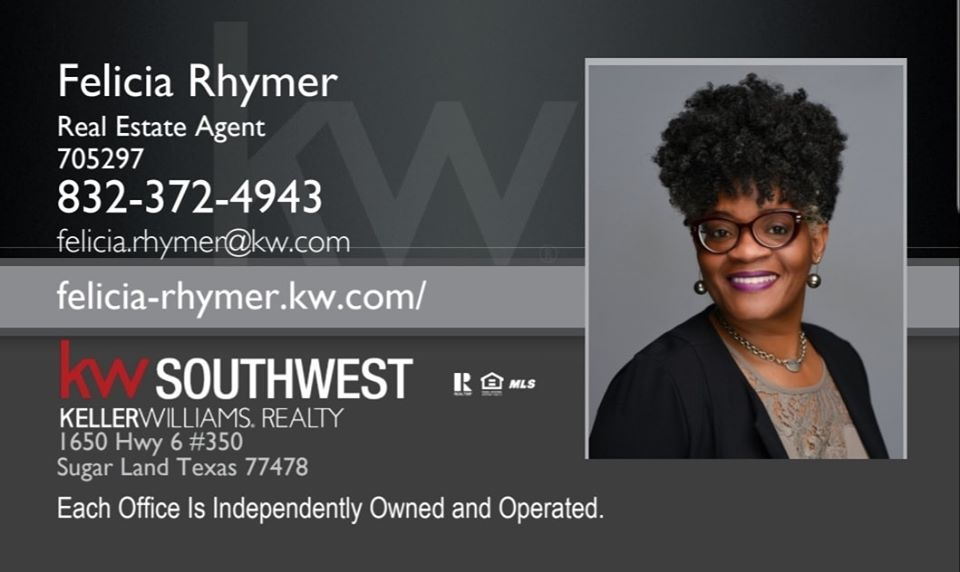 Felicia Rhymer KW Real Estate Agent