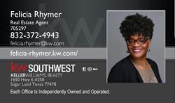 Felicia Rhymer KW Real Estate Agent