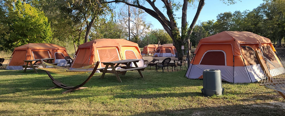 Tent Set Up All Inclusive