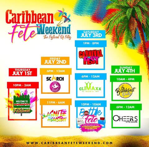 Caribbean Fete Weekend