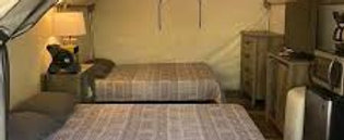 Luxury Glamping Cabin 2 Queen Beds