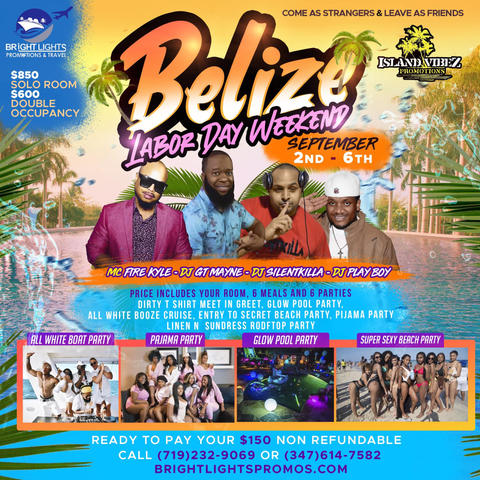 Belize Labor Day Weekend