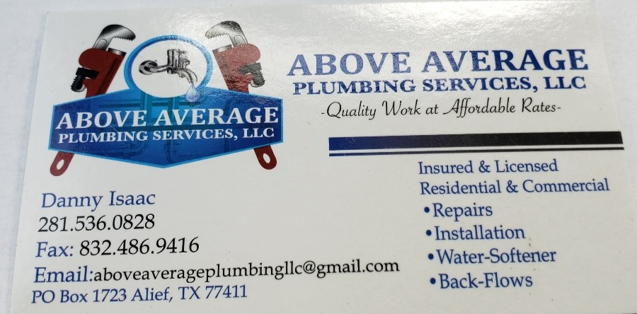 Above Average Plumbing Service