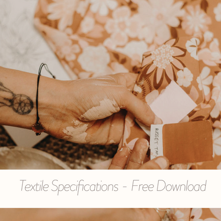 Free Download - Textile Specifications