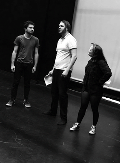 Hove Grown rehearsals