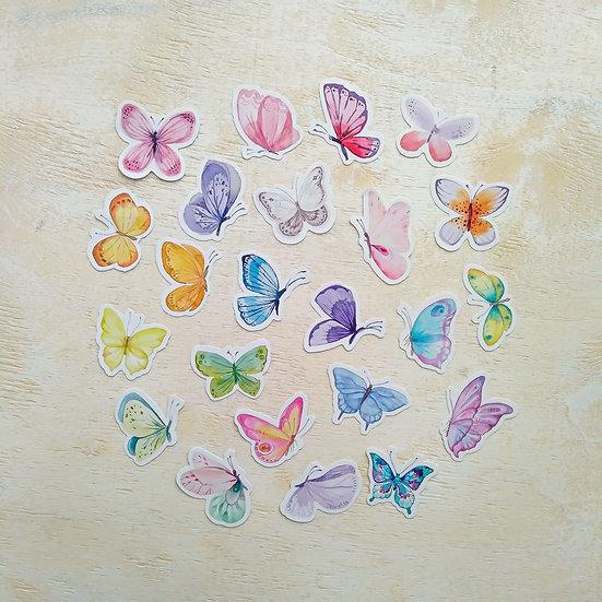 """Стикеры """"Бабочки"""""""
