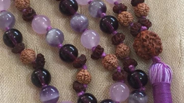 Purple Mala