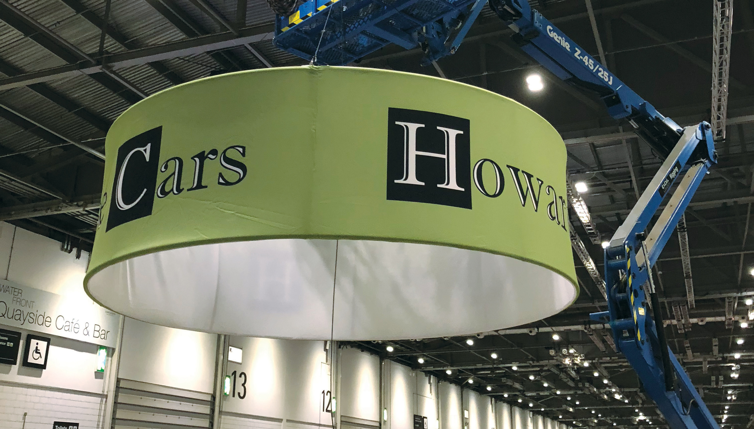 HWC Exhibition Sign