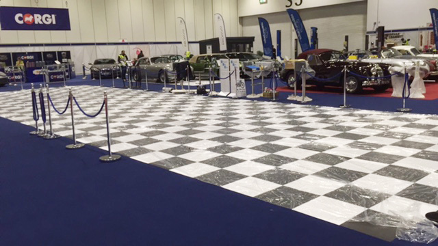 Excel Exhibition Floor Vinyl