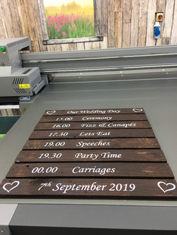 Pallet Print - Order of the Day