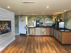 Hotel drinks station re-fit