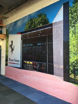 Feature Ferrari Wall