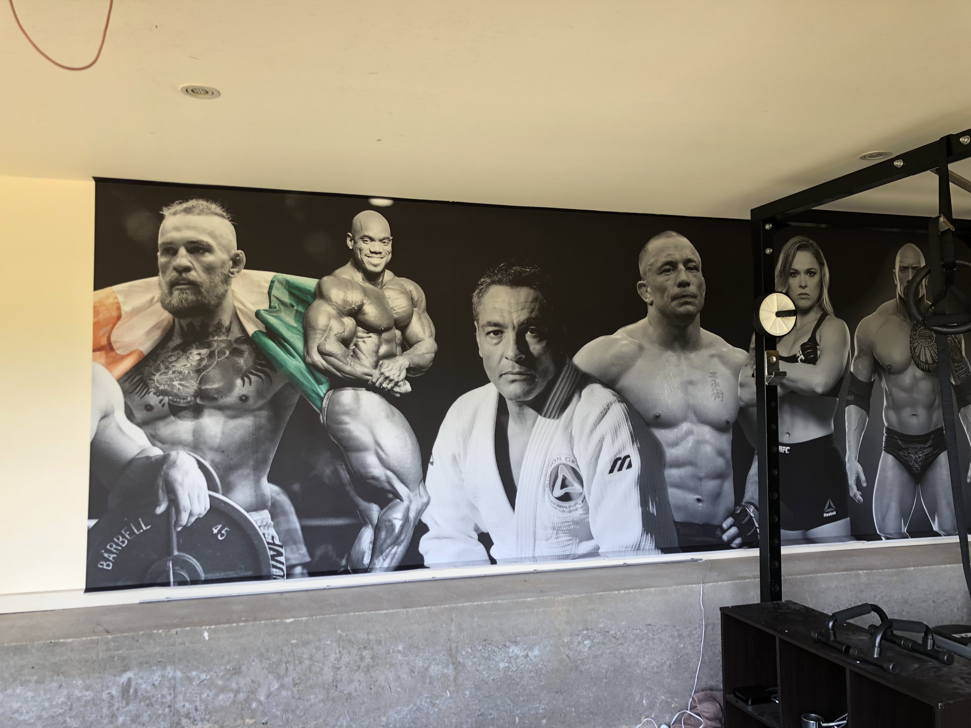 New Gym wall