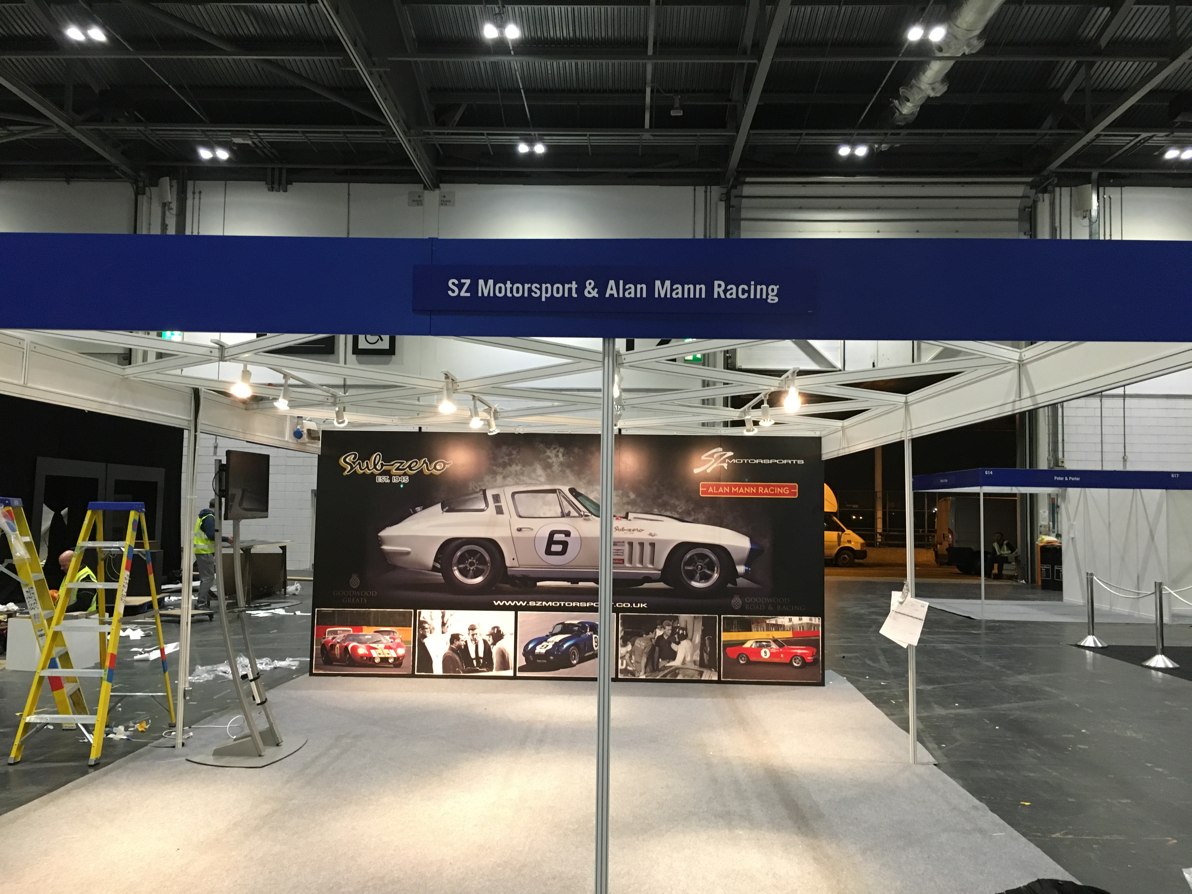 Exhibition Stand Graphic