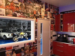 Motorsport Kitchen Wallpaper