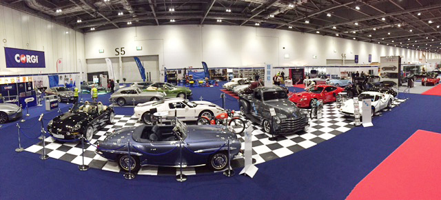 Classic car show floor vinyls