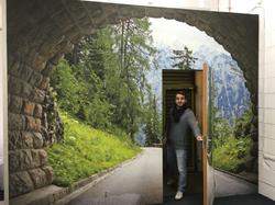 Studio Tunnel Door