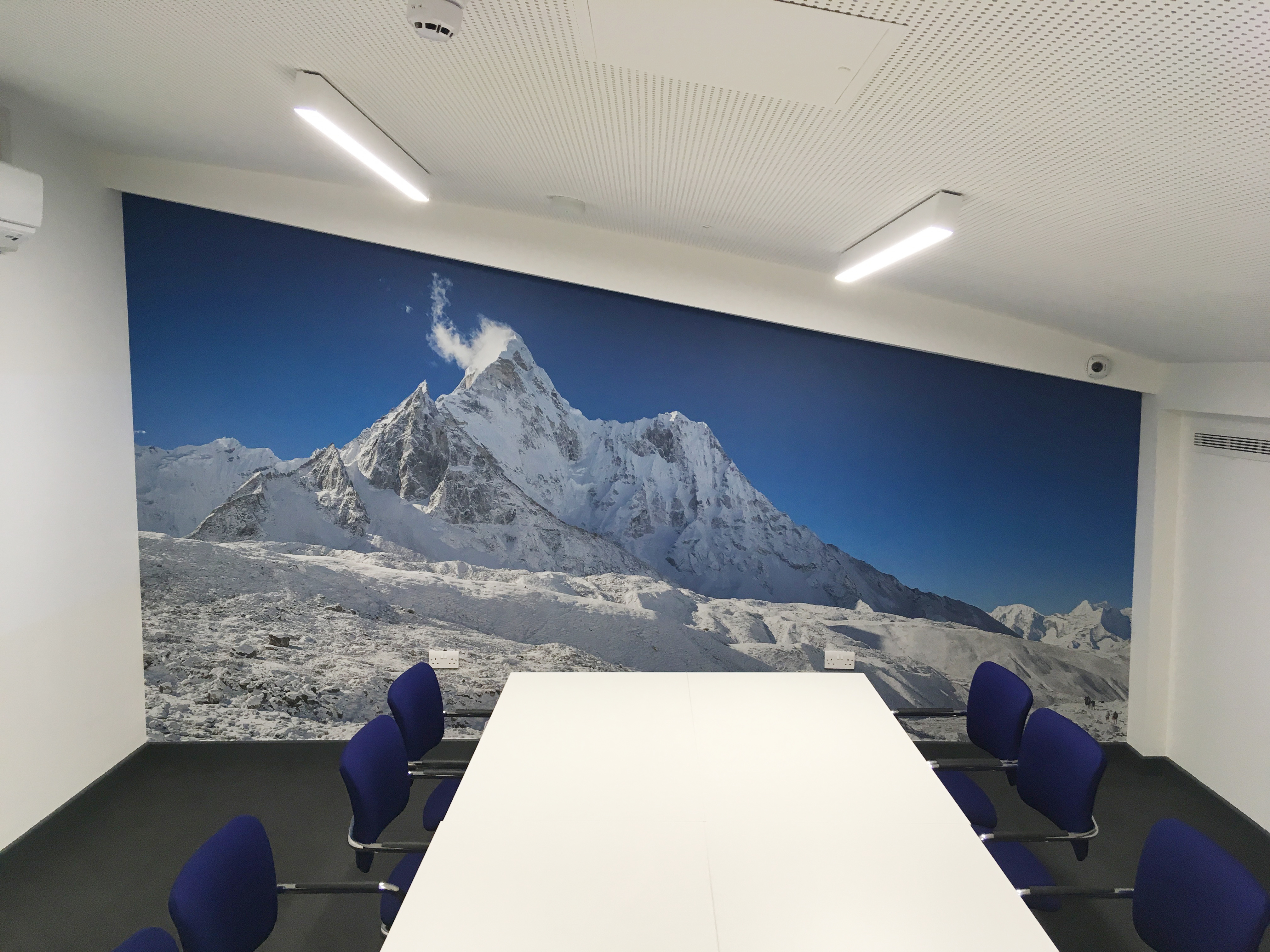 Boardroom wall feature