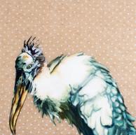 A Stork, the Wood Kind