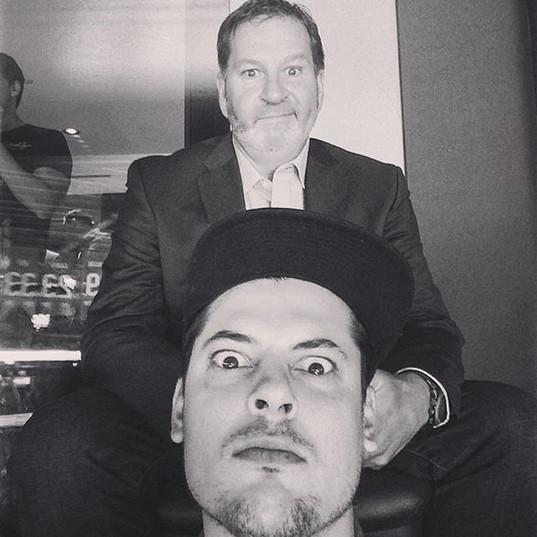 Vincent C et Mario Jean