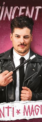 Affiche du spectacle Vincent C Anti-Magie