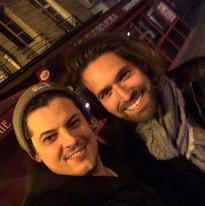 Vincent C et Simon Morin à Paris