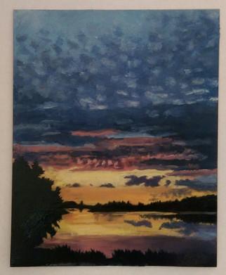 Sunset, Fertile Minnesota