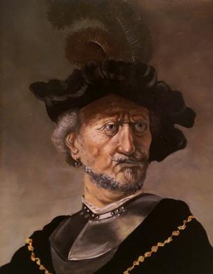 Study after Rembrandt