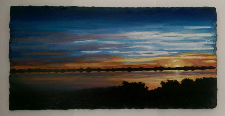 Sunrise near Oyster Point