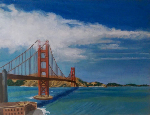 View of the Golden Gate