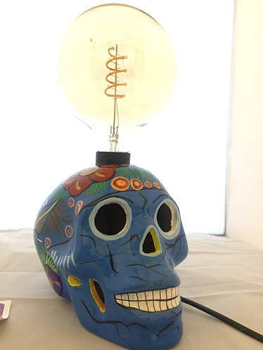 Olivier lampe skull