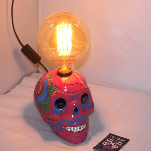 Maria Lamp skull