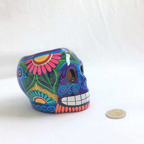 Baltazar Flower pot skull