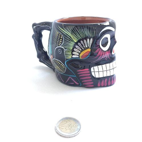Tina mug skull