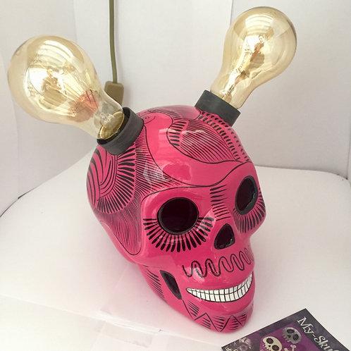 Girly Lamp Skull