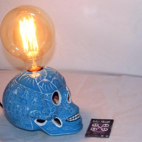 Mario Lamp skull