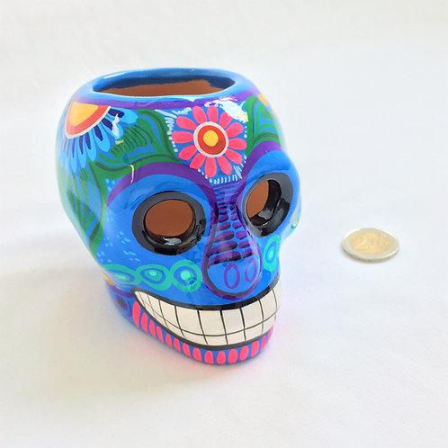 Arturo Flower pot skull